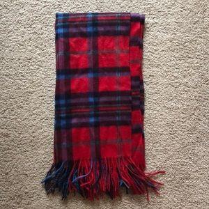 Cashmere tartan scarf Talbots